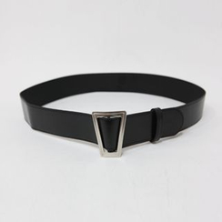 DABAGIRL - Geometric-Buckle Belt