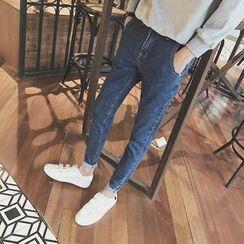 Eight Degrees - 刺繡牛仔褲