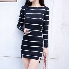 Cobogarden - Striped Knit Dress