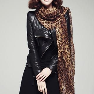 Cuteberry - Leopard Print Scarf