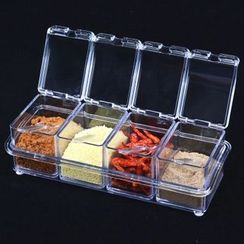 Yulu - Four Set Spices Box