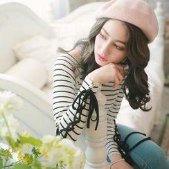 Tokyo Fashion - Striped Pullover