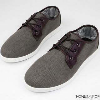 Monkey Shop - Two-Tone Deck Shoes