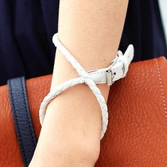 SO Central - Faux-Leather Bracelet