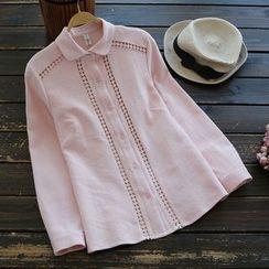 YOYO - Lace-Trim Shirt