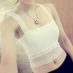 camikiss - Lace Crochet Camisole