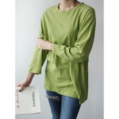 STYLEBYYAM - Colored Round-Neck T-Shirt
