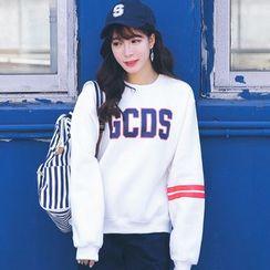 AiAi Bear - Letter Fleece-lined Sweatshirt