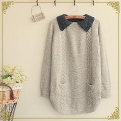 Fairyland - Contrast Collar Sweater
