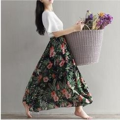 MayFair - Floral Maxi Skirt