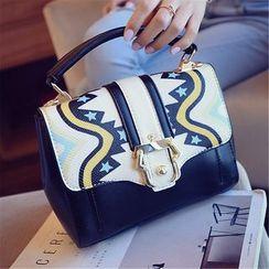 Nautilus Bags - Print Flap Tote