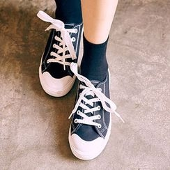 chuu - Toe-Cap Canvas Sneakers