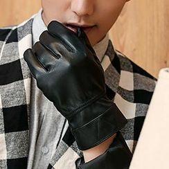 Thantrue - Genuine-Lambskin Stitched Gloves