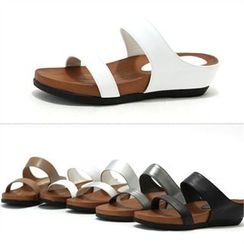 MODELSIS - Genuine Leather Mules