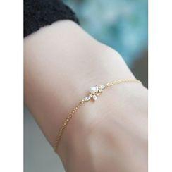 kitsch island - Rhinestone Bracelet