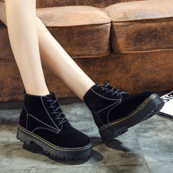 Zandy Shoes - Lace-Up Ankle Boots