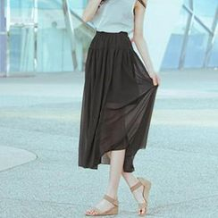 CatWorld - Chiffon Maxi Skirt