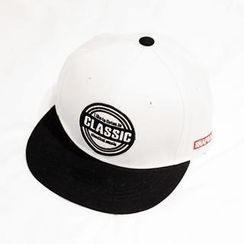 NANING9 - Embroidered Lettering Baseball Cap