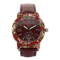 N:U - Not the Usual - Floral Printed Watch