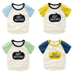 WellKids - Kids Short-Sleeve Lettering T-Shirt