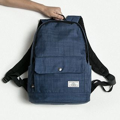 Mr.ace Homme - Plain Nylon Backpack