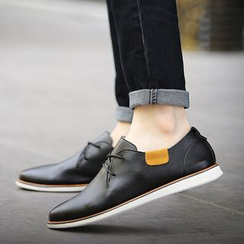 MARTUCCI - Faux-Leather Deck Shoes