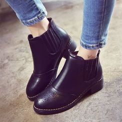 Yoflap - Brogue Ankle Boots