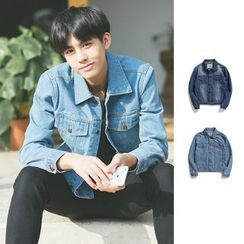 Chuoku - Long-Sleeve Denim Shirt