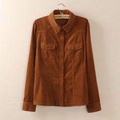 Tangi - Long-Sleeve Corduroy Shirt