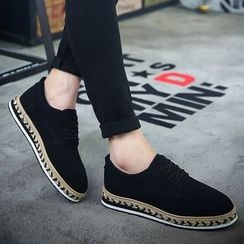 Muyu - Espadrilles Boat Shoes