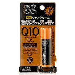 Kose - Softymo Q10 Medicated Lip Cream SPF 17