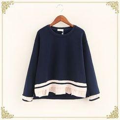 Fairyland - Ruffle Trim Sweatshirt