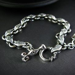 Sterlingworth - Sterling Silver Toggle Bracelet