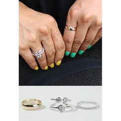 BBORAM - Set of 3: Rings