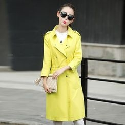 AiSun - Double Breasted Trench Coat