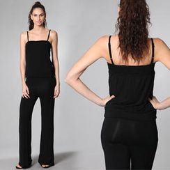 Almaz.C Lifestyle - Smocked Jumpsuit