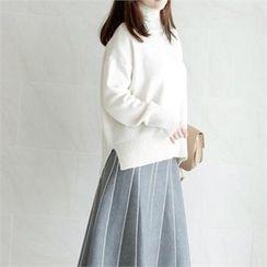 YOOM - Wool-Blend Turtle-Neck Sweater