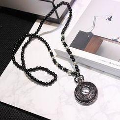 EPOQ - 懷錶珠飾項鍊