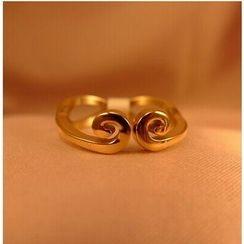 Nanazi Jewelry - Swirl Ring