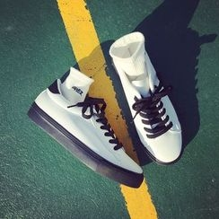SouthBay Shoes - Two-Tone Sneakers