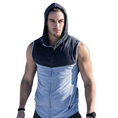 Fireon - Color Panel Hooded Vest