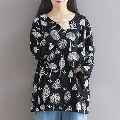 Queen Bee - Printed Sweatshirt