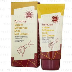 Farm Stay - Visible Difference Snail Sun Cream SPF 50 PA+++