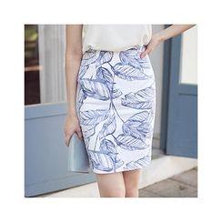 MASoeur - Printed Pencil Skirt