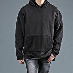 THE COVER - Hooded Kangaroo Pocket Pullover