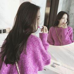 Panda Love - Melange Thick Sweater