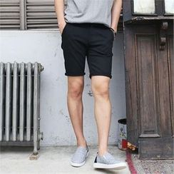 MITOSHOP - Pocket-Side Colored Shorts