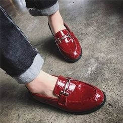 Hipsole - Patent Paneled Loafers