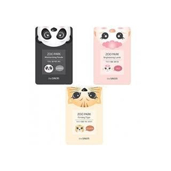The Saem - Zoo Park Moisturizing Panda Mask Sheet 1pc