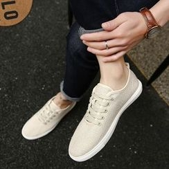 MR.GONG - Plain Canvas Sneakers